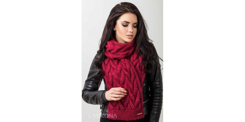 Модный шарф - неотъемлемый элемент стильного образа.