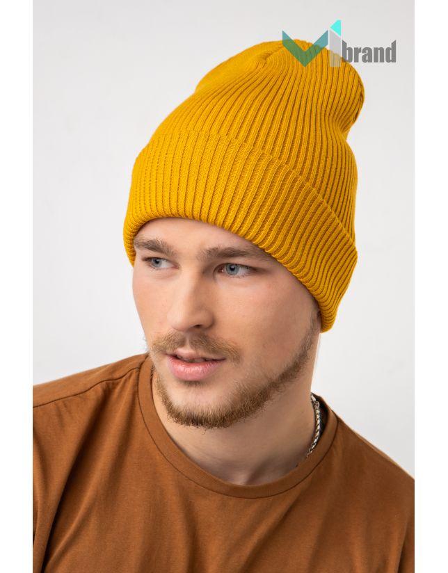 Мужская шапка CASKONA EMMET F UNI желтый