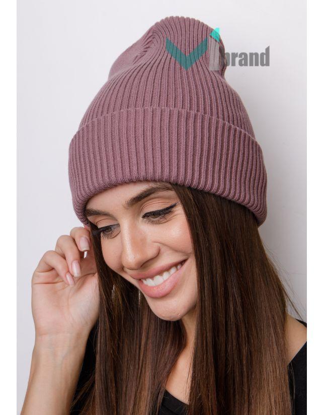 Женская шапка CASKONA EMMET F инжир