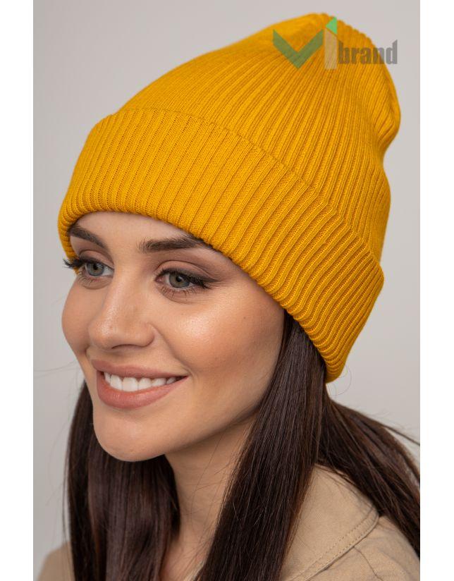 Жіноча шапка CASKONA EMMET F жовтий