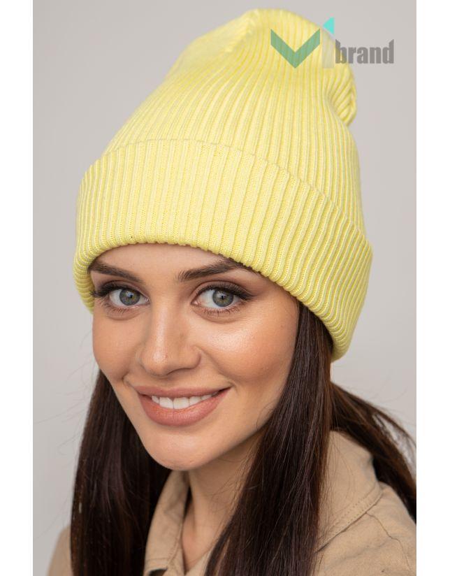Жіноча шапка CASKONA EMMET F лайм