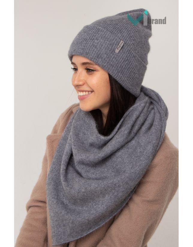 Жіночий шарф-косинка ODYSSEY БАКТУС BS-5 димка