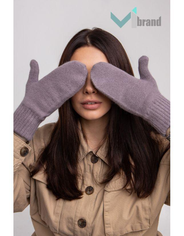 Ангорові рукавички ODYSSEY V-11 стальний
