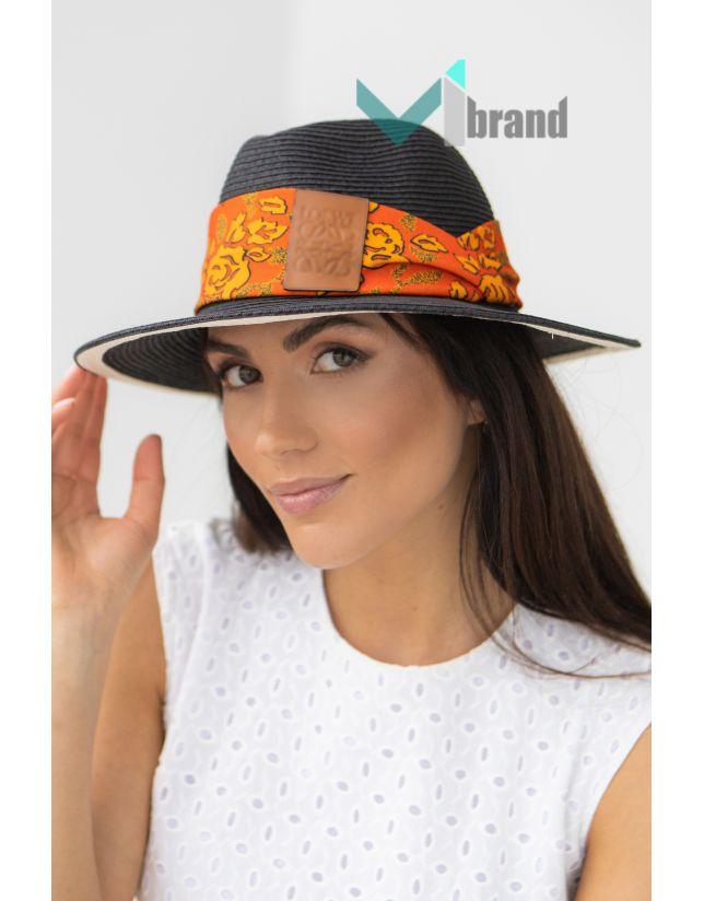 Плетений капелюх-LOW