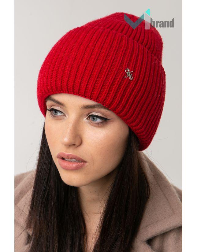 Жіноча шапка VEER MAR ДОРОТІ червоний