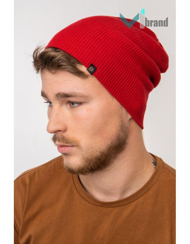 Чоловіча шапка VEER MAR ДОЛОРЕС червоний